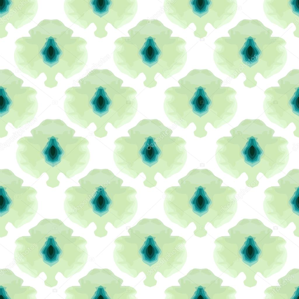 seamless water color mosaic pattern