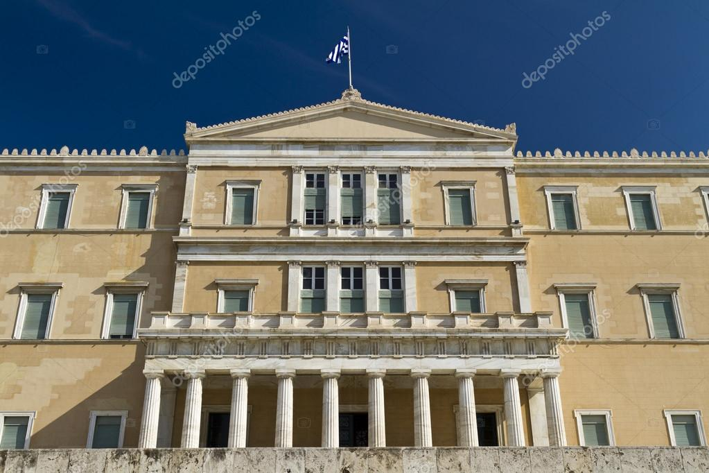 アテネのギリシャ議会 — ストッ...