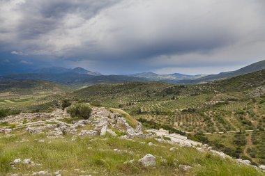 Acropolis of Mycenae,Greece