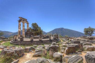 The tholos of the sanctuary of Athena Pronaia at Delphi,Greece