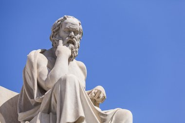 Statue of Socrates, Academy of Athens,Greece