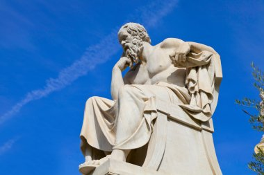 Statue of Socrates from the Academy of Athens,Greece statue of Socrates from the Academy of Athens,Greece