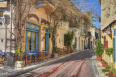 Photo Traditional houses at Plaka area,Athens,Greece