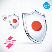 Fotografie I Love Japan Flag Illustration, Sign, Symbol, Button, Badge, Icon, Logo for Family, Baby, Children, Teenager