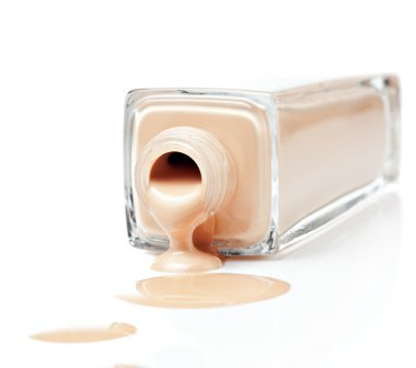 Foundation on a white background