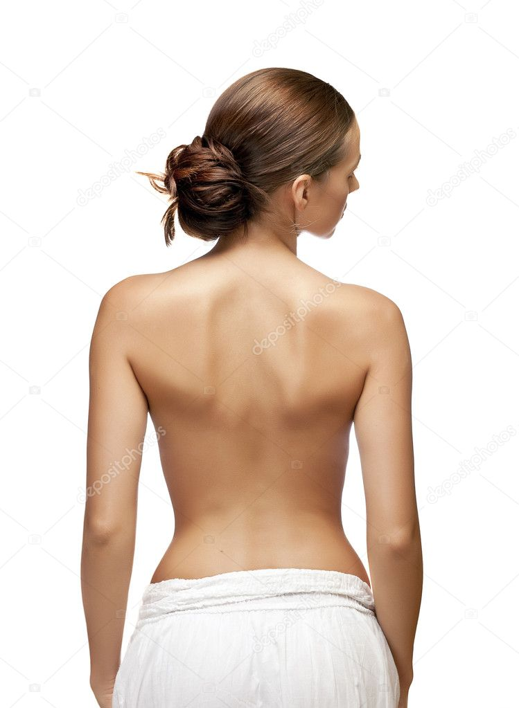 Beautiful Back Of Woman