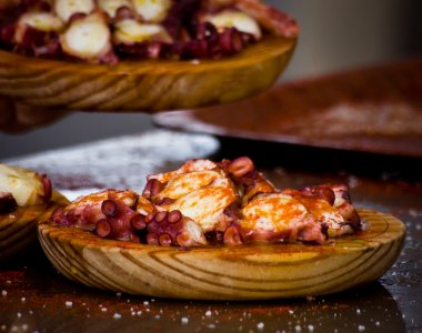 spanish octopus food