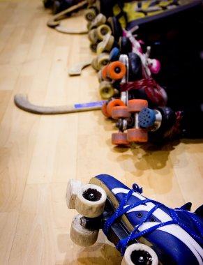 roller hockey detail