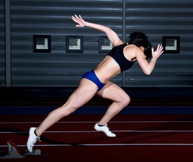 sprinter woman