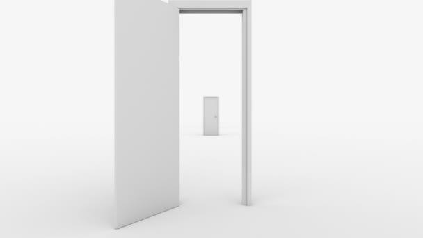 dveře letu