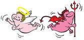 Fényképek Angyal vs gonosz