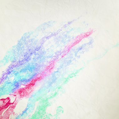 Water color like cloud on old paper. + EPS10