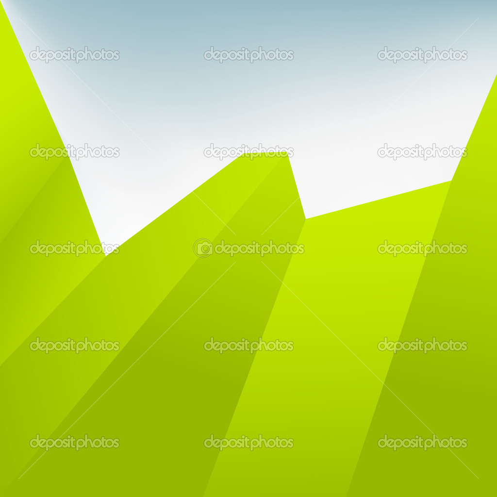 Green Abstract Background. + EPS10