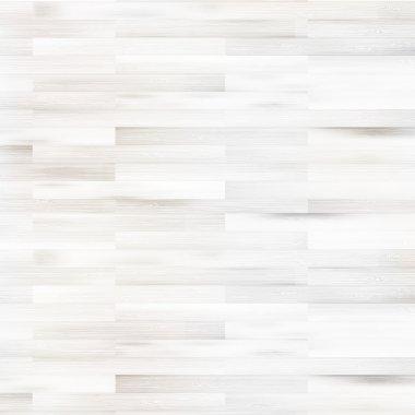 White wooden parquet flooring. + EPS10