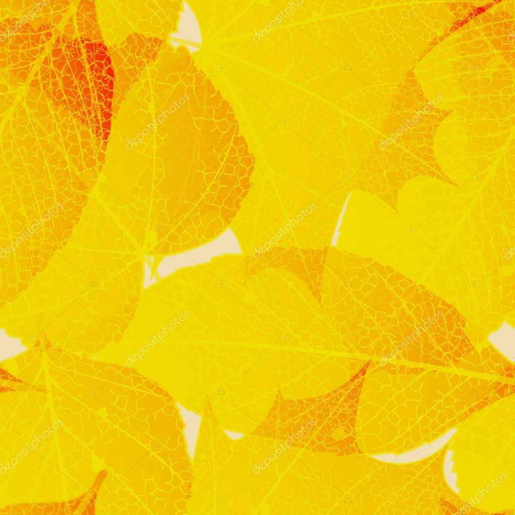 Seamless autumn leaves pattern. plus EPS10