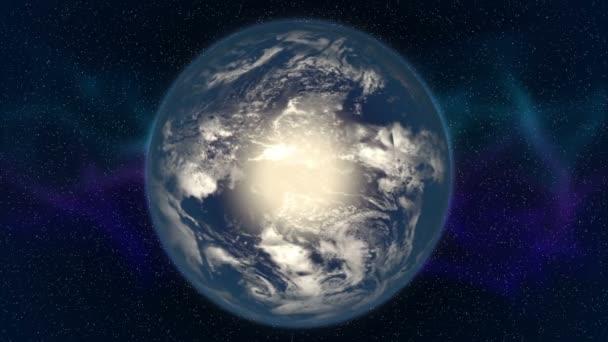 Earth 3d animace