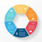 moderní grafické informace pro obchodní projekt
