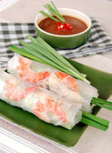 Fotografie Vietnamese cuisine - spring rolls