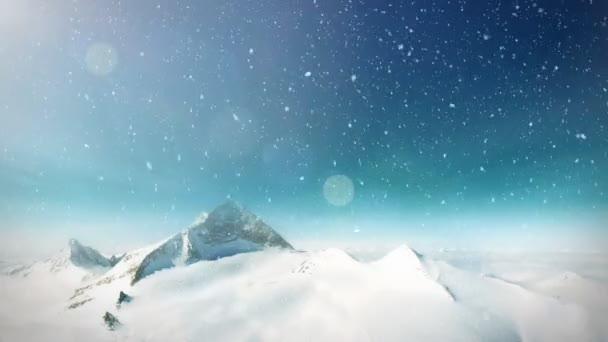 sníh hora smyčka