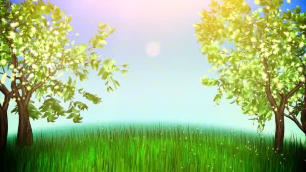 Apple trees loop