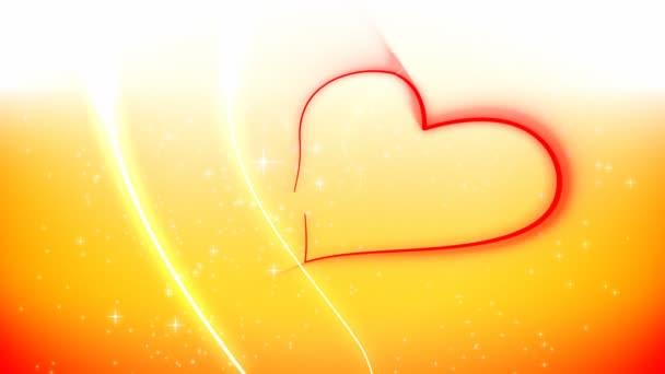 Valentines Herzlinien