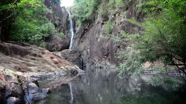 džungle vodopád