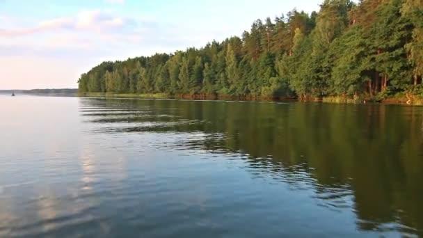 výlet lodí po jezeře