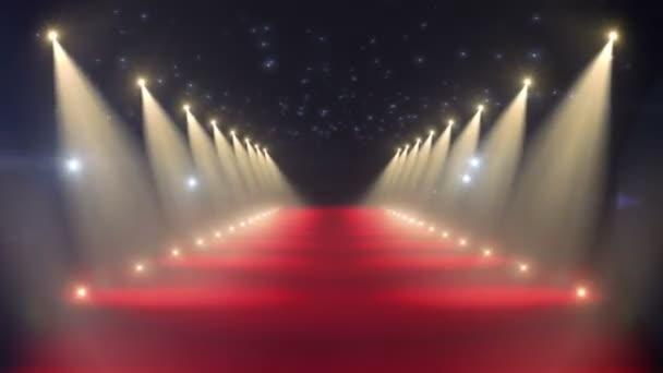 červený koberec smyčka