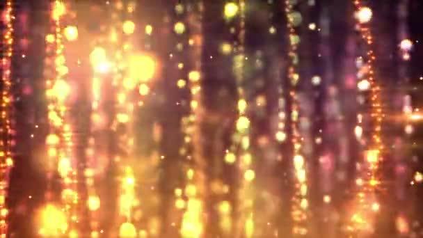 Goldene Vorhänge Schleife