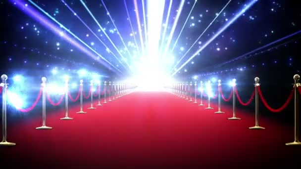 Magic červený koberec smyčka