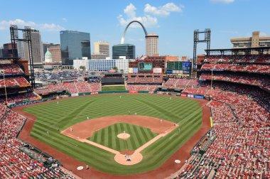 Busch Stadium in Saint Louis