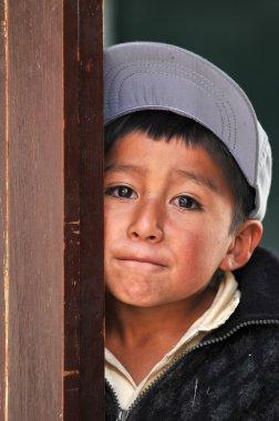 Portrait of Poor Boy