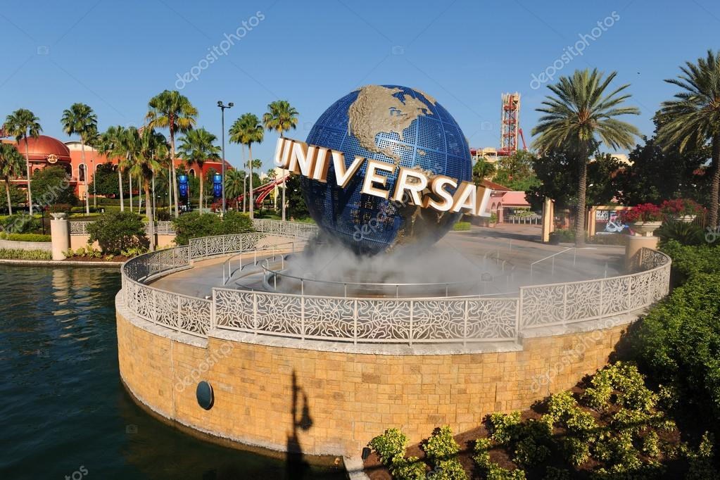 Universal Studios Entrance in Orlando, Florida