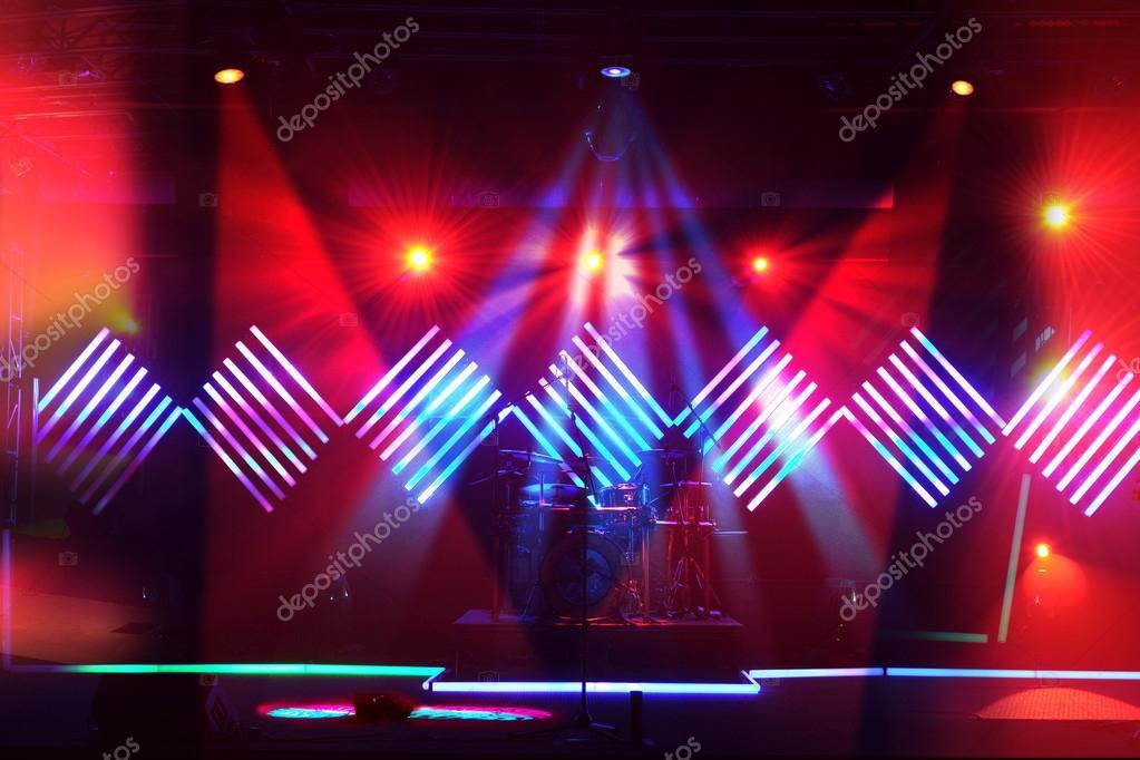 podium verlichting met led design — Stockfoto © ginosphotos1 #13576873