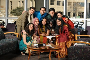 Group of Asian Students
