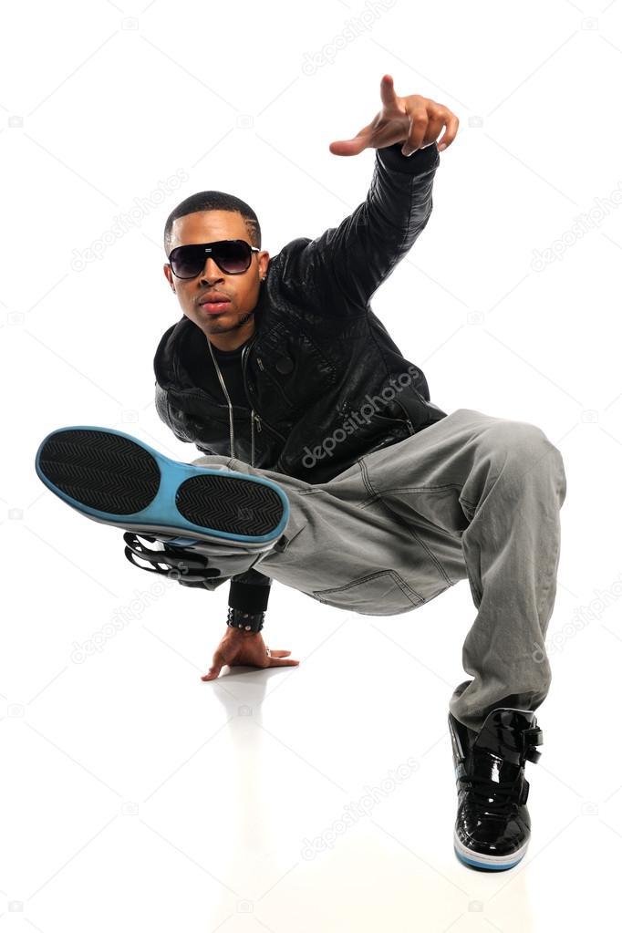 Hip Hop Man Performing