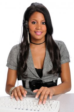 Female Customer Representative