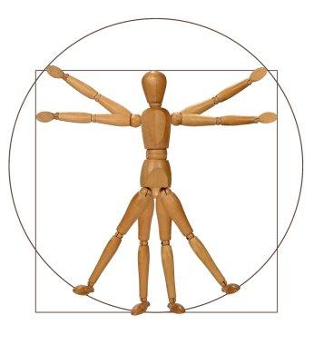 Vitruvian Man (A Modern Rendition)