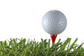 golfový míček a odpal