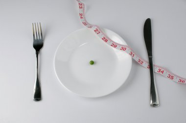 Pea and tape meassure diet
