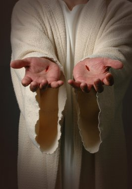 Jesus Hands with scars