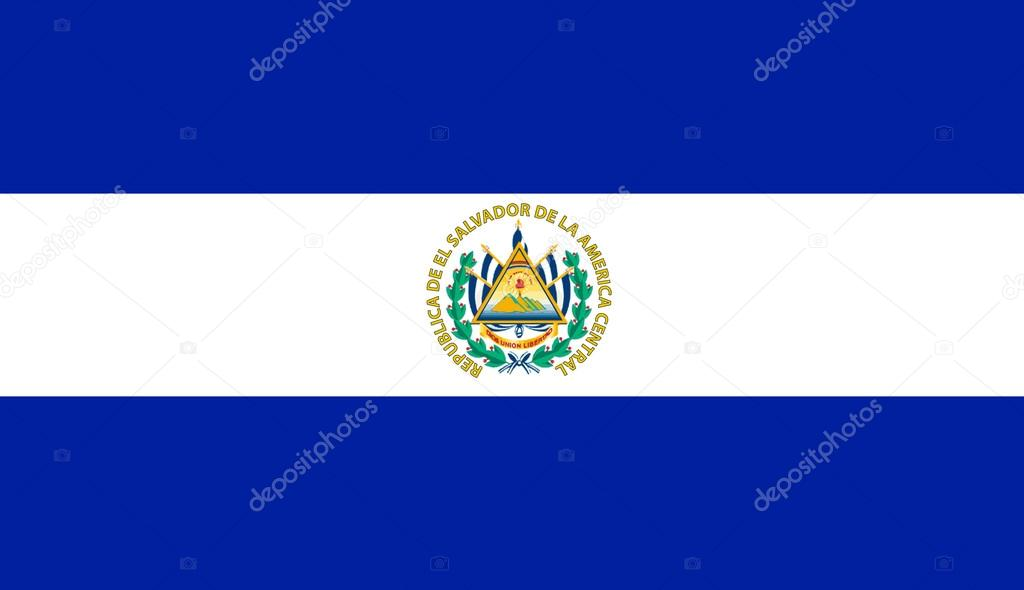 Vlag Van El Salvador Stockfoto Ginosphotos1 16860259