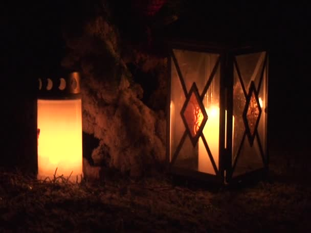 Candle light outdoors 18