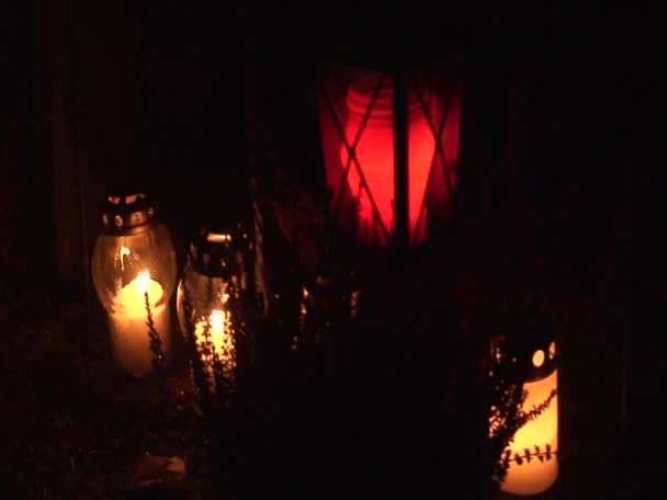 Candle light outdoors 4