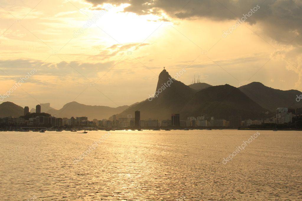 Statue to Jesus Christ in Rio de Janeiro Brazil