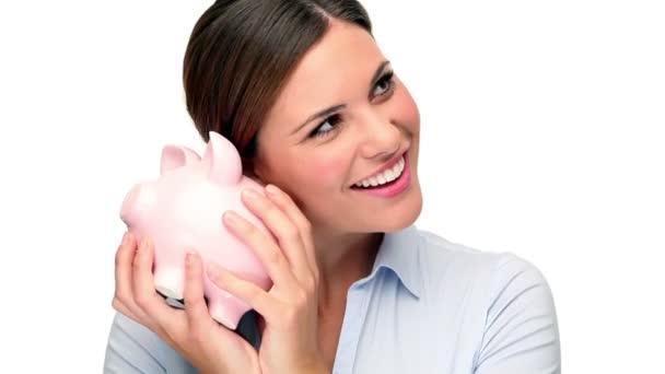 žena s prase Pokladnička