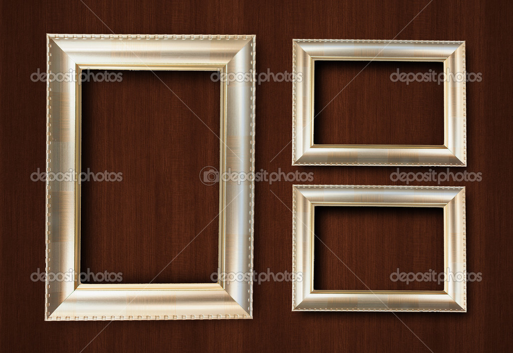 Gold Farbe Rahmen — Stockfoto © chayathon #29991281