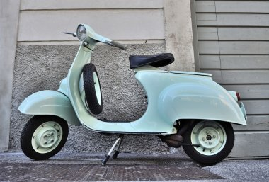 Classic Italian scooter of 1965