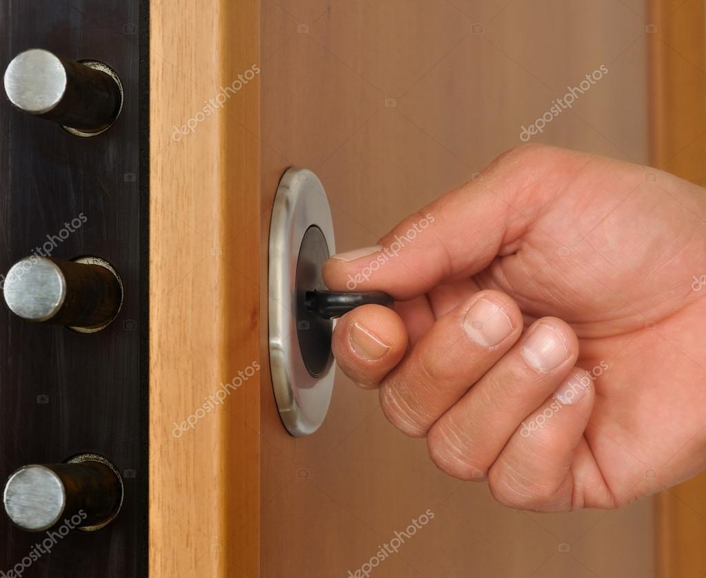 Lock security door