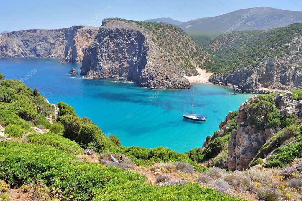 Sardinia, Alghero, beach